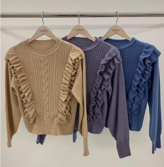Blusa Tricot Melody 4% Elastano