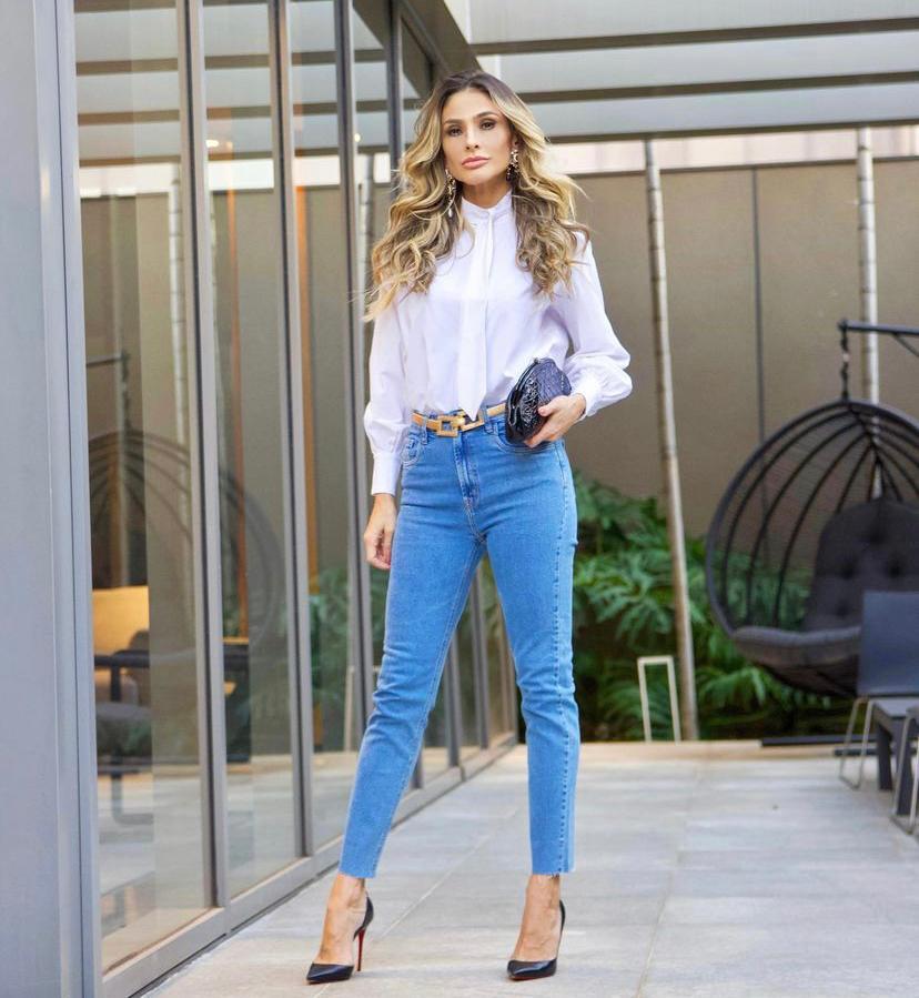 Calça Belinda Jeans 1% Elastano