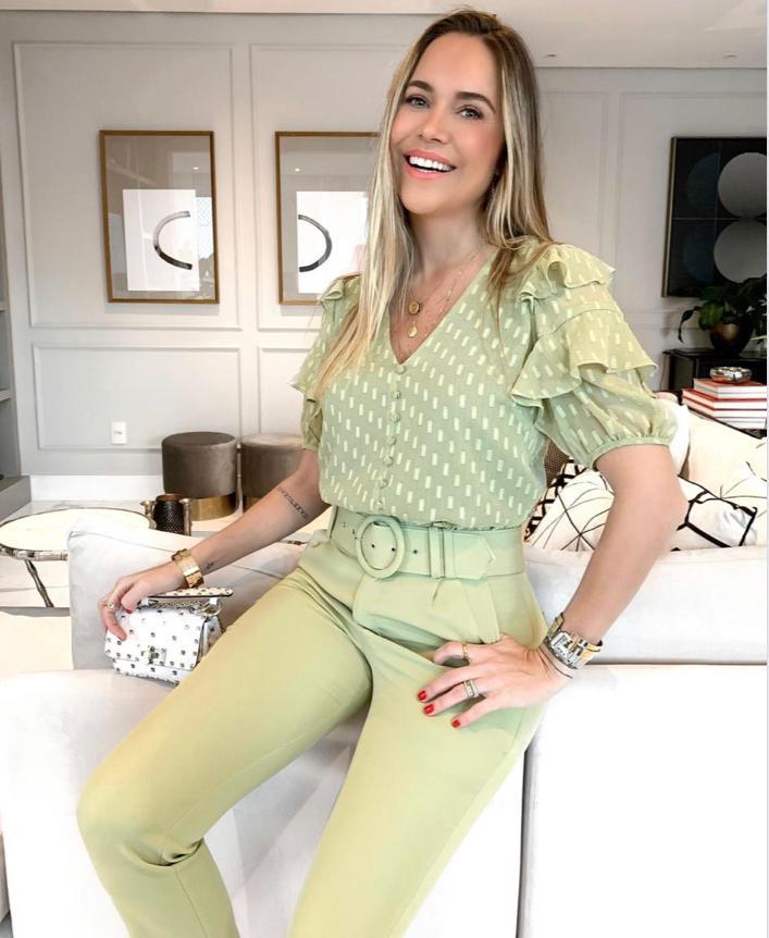 Calça Daniela Alfaiataria + Cinto