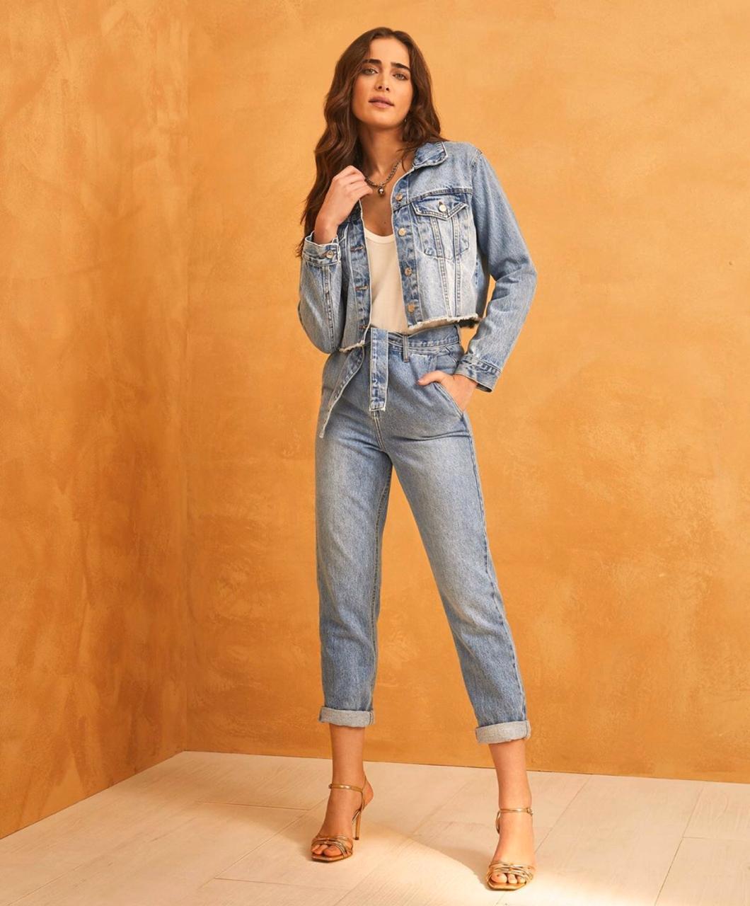 Calça Esmeral Clochard Jeans