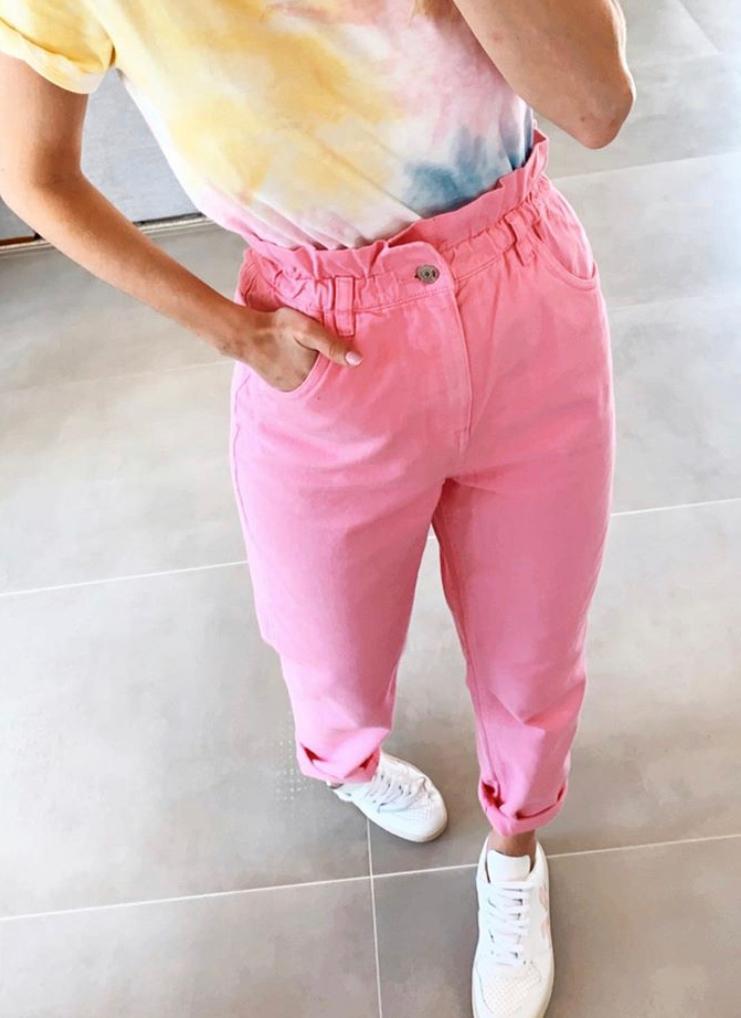 Calça Esmeral Color Sarja