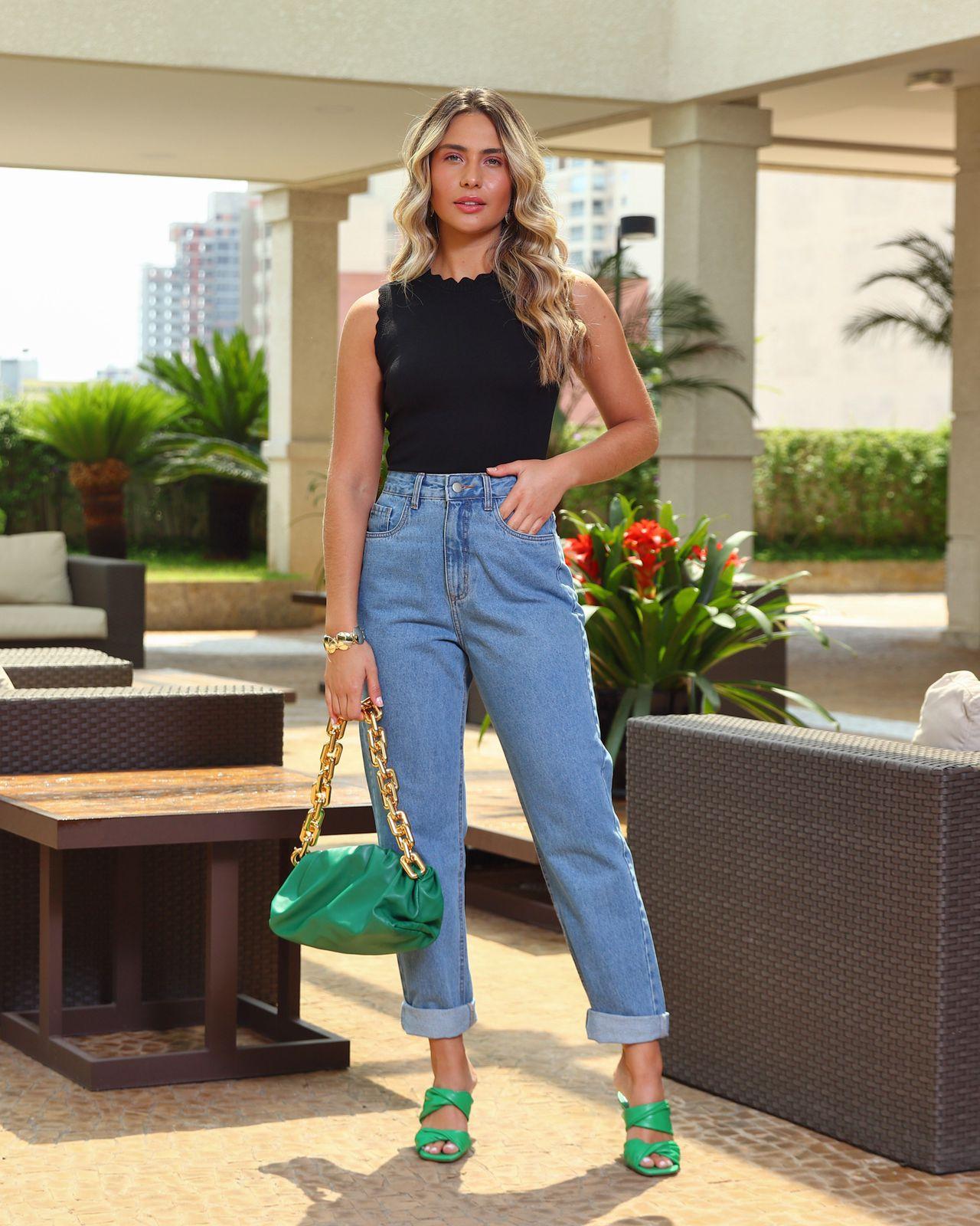 Calça Unique Mom Jeans