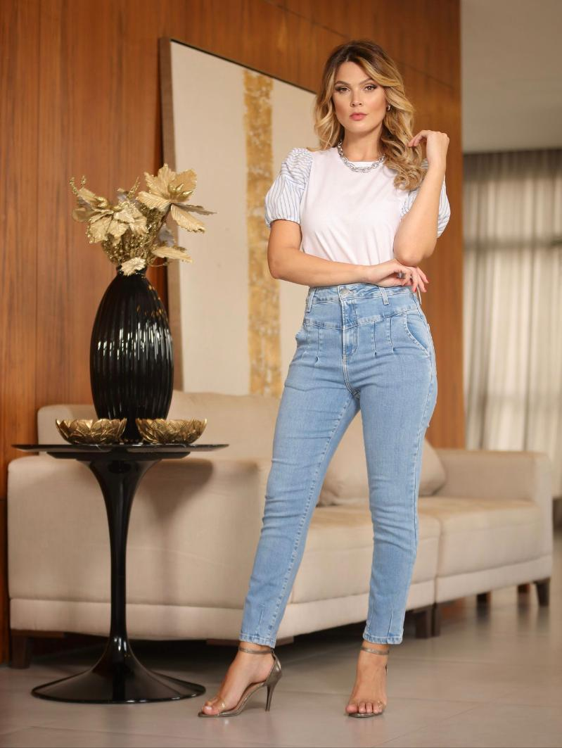 Calça Hit Jeans Skinny 2% Elastano