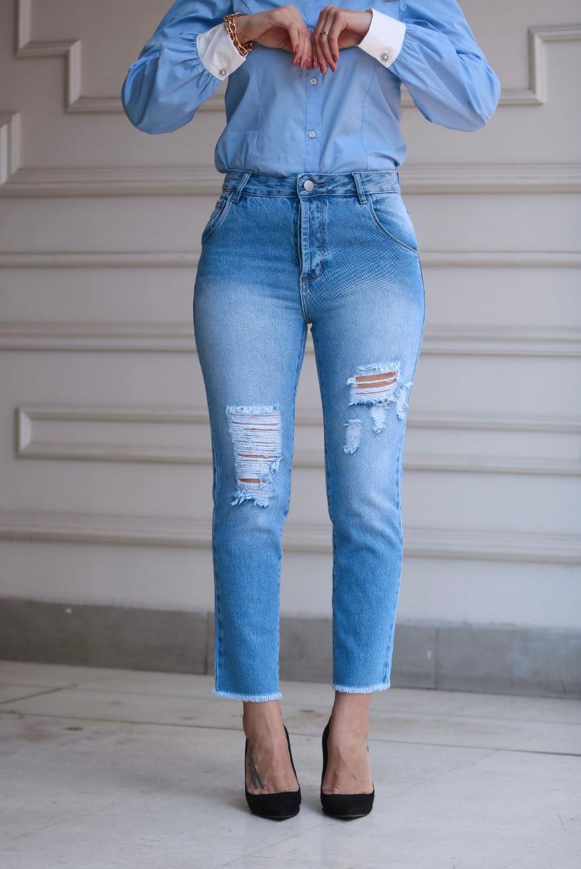 Calça Ibiza Jeans Mom