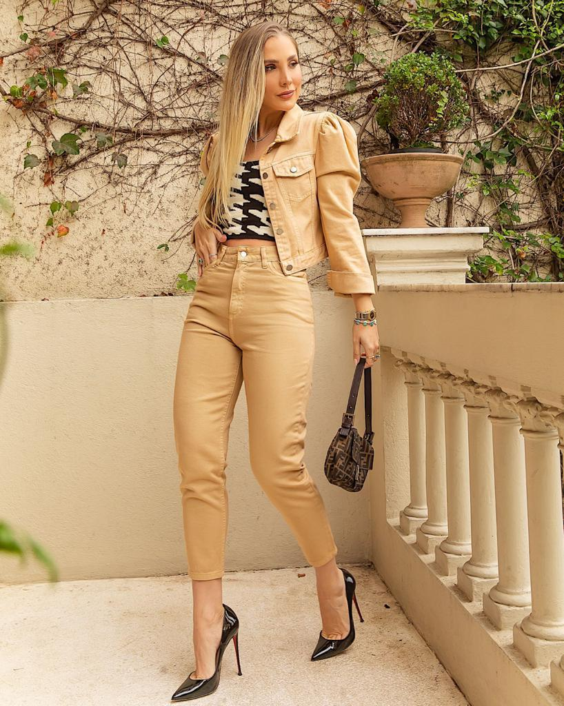 Calça Livia Mom True Jeans