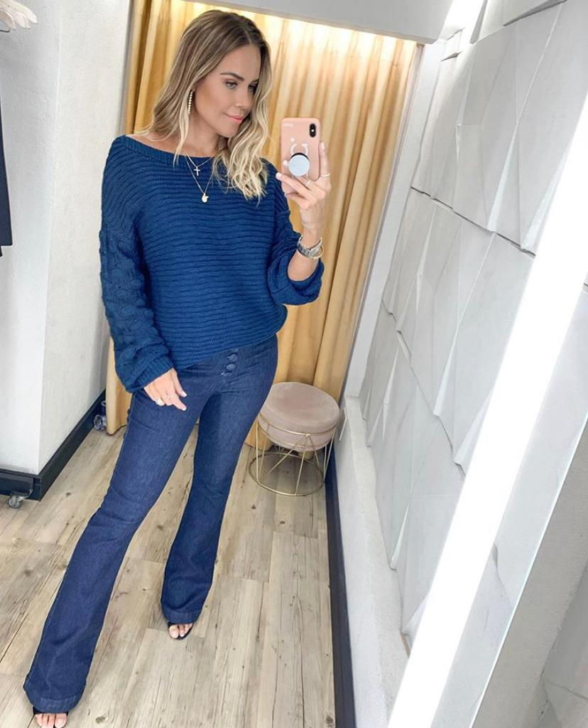 Calça Milena  Jeans Algodão 2% Elastano