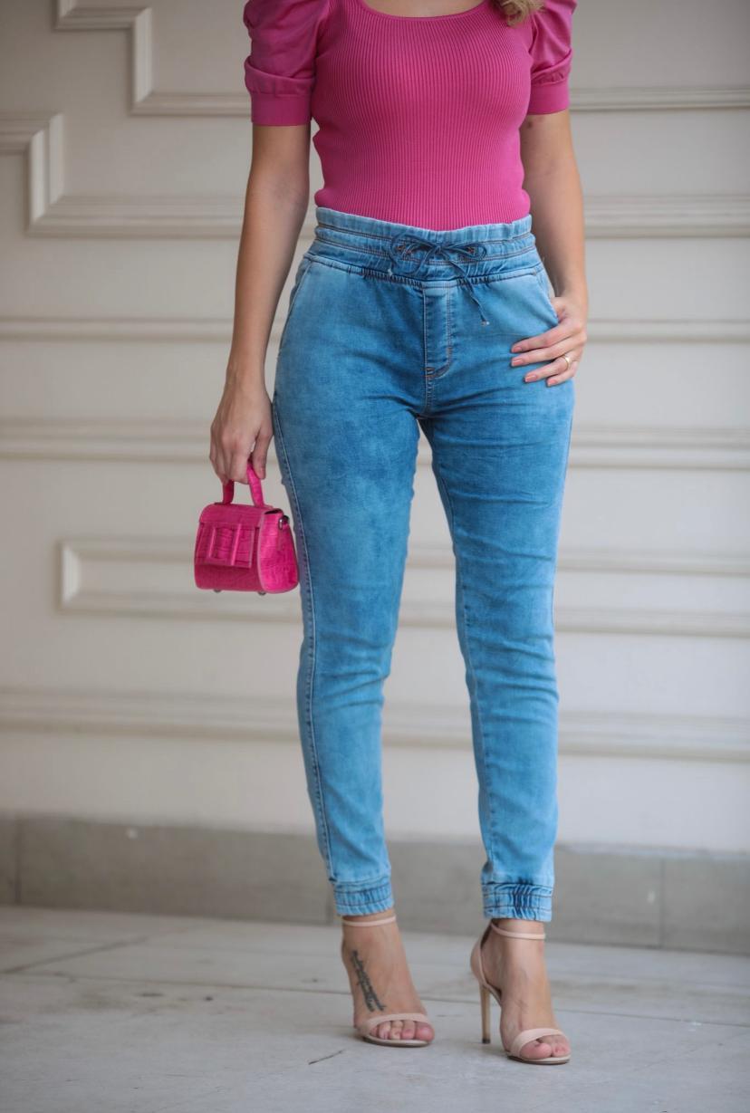 Calça Morina Moletom & Jeans