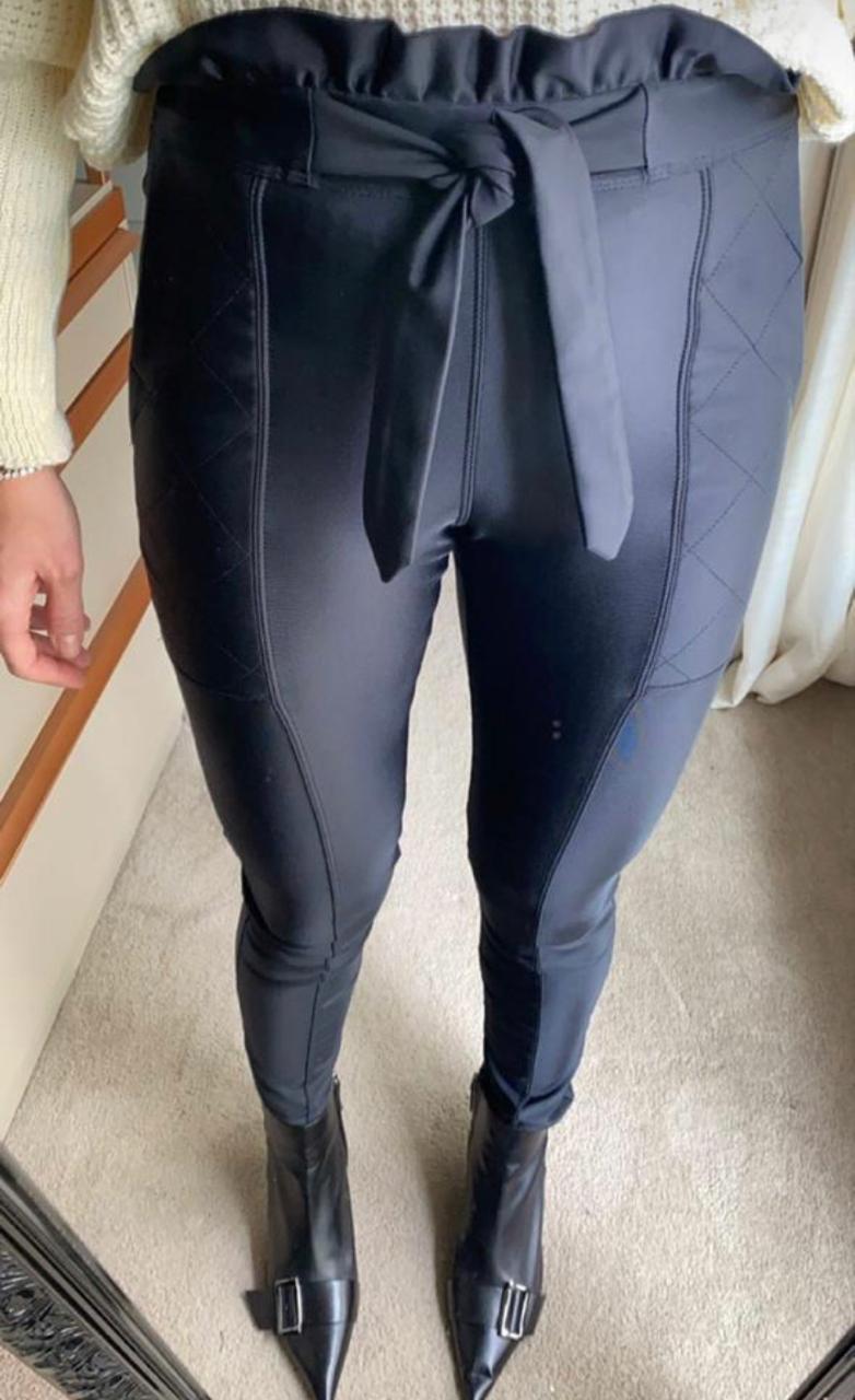 Calça Morina  Power Skinny com Pesponto
