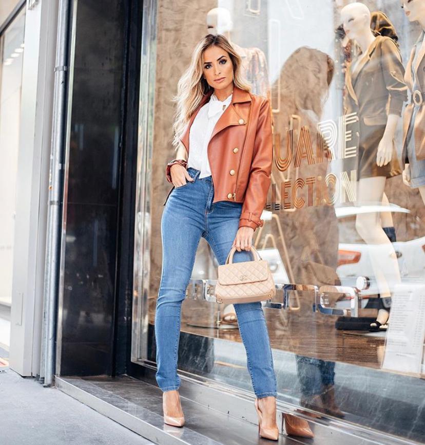 Calça Morina Skinny Soft Jeans 2% Elastano