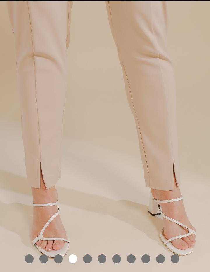 Calça Unique Sarja Poliamida Skinny 3% Elastano