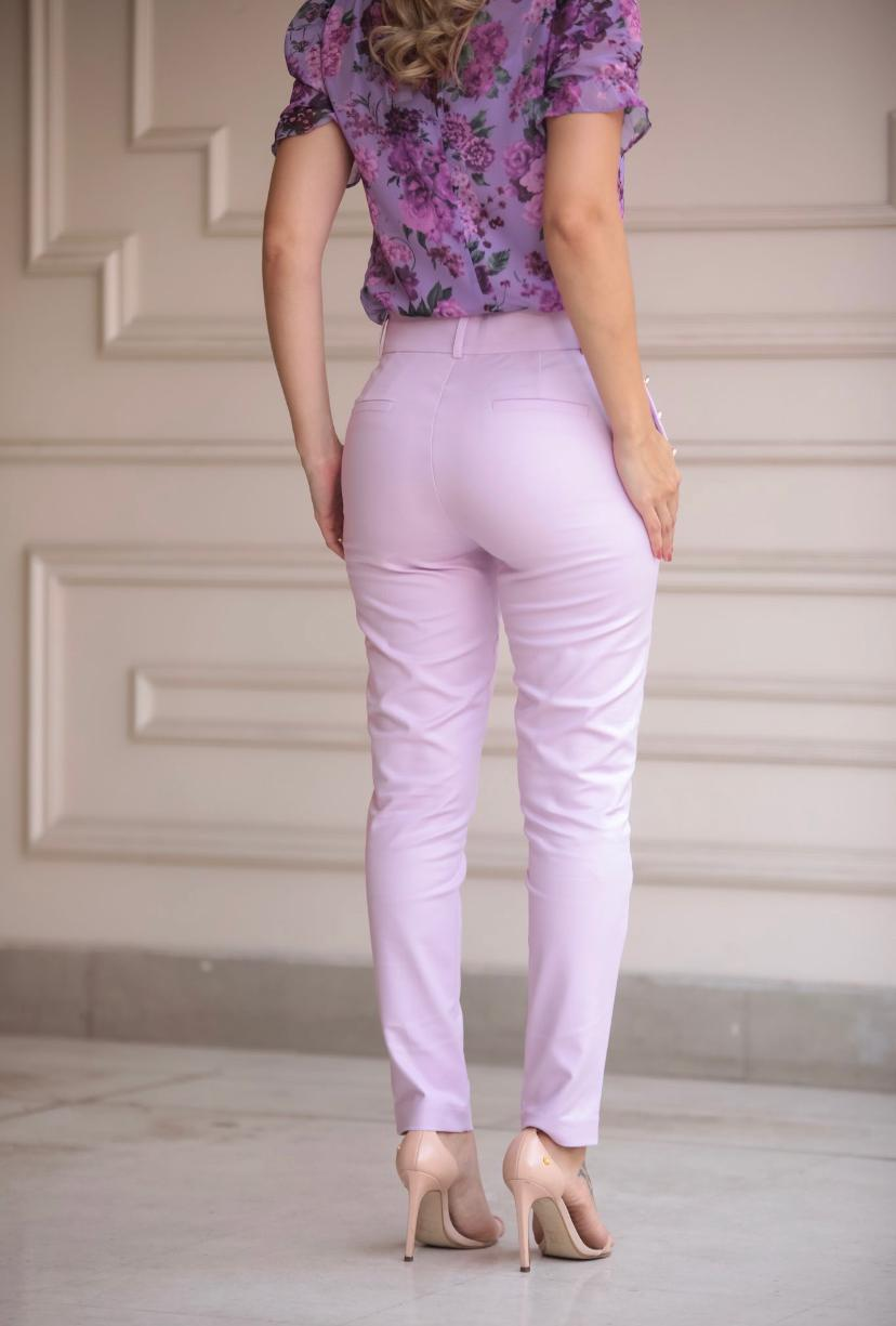 Calça Unique Skinny Botões Bolso 50% Algodão 46% Poliamida 4% Elastano