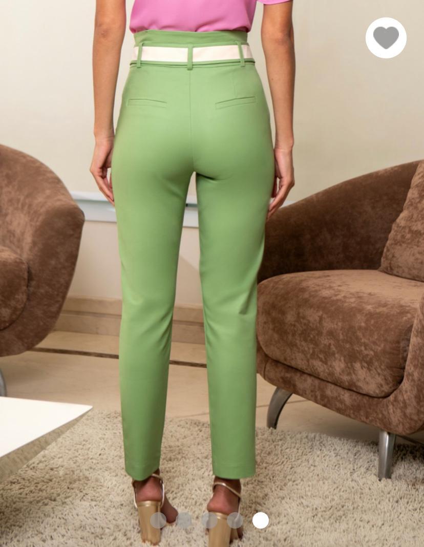 Calça Unique Skinny Faixa 3% elastano