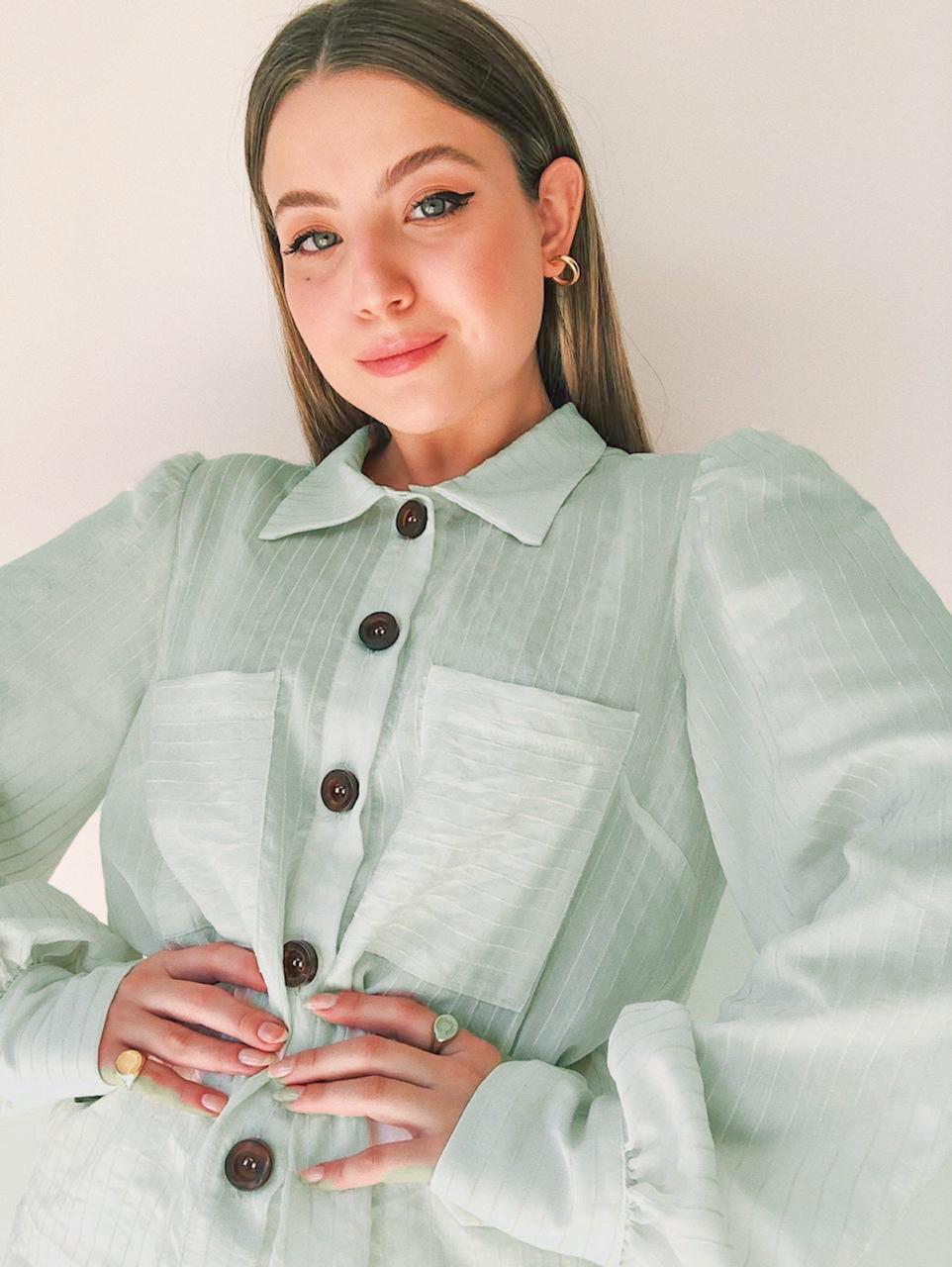 Camisa Aline Viscocrepe