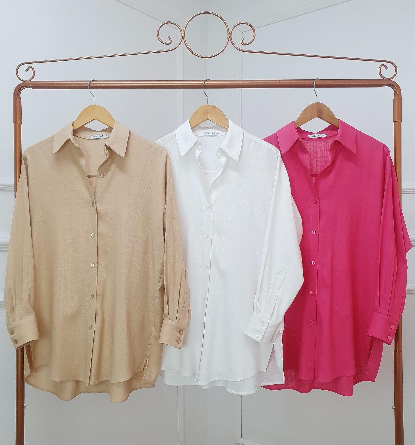 Camisa Bella Maxi
