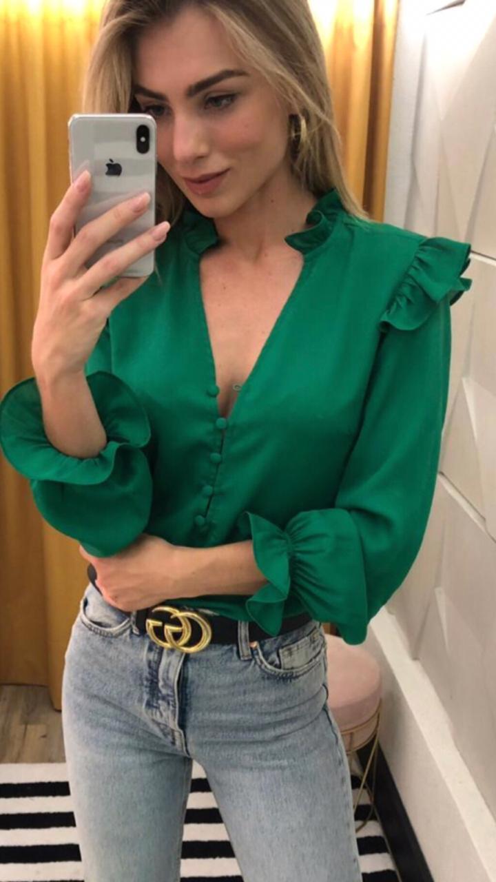 Camisa Eleonor  Crepe