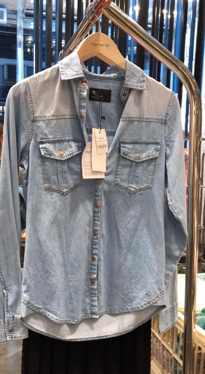 Camisa Morina Jeans Stone