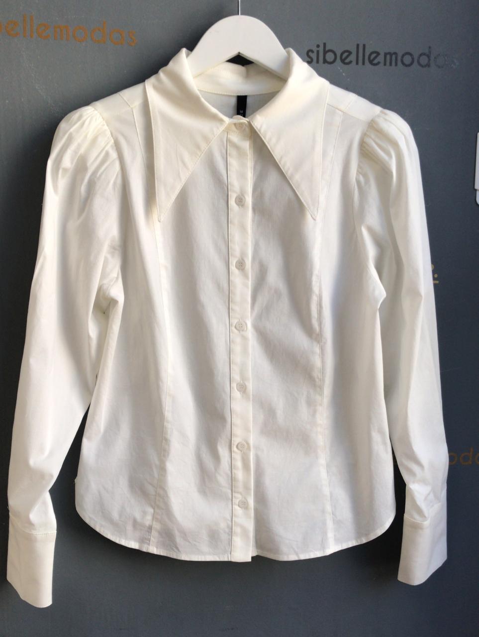 Camisa Sofia Tricoline Detalhe Maxgola