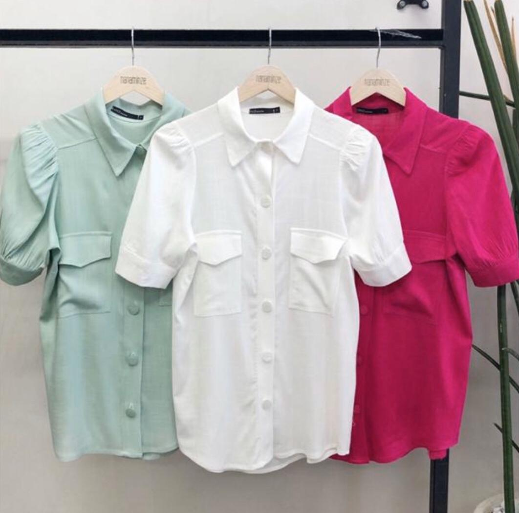 Camisa Tulum Viscolinho 3%Elastano