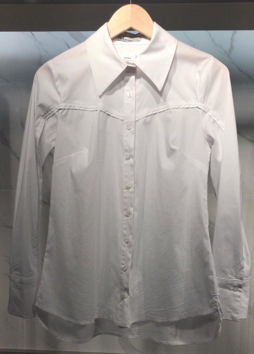 Camisa Morina Basica Ellis 3% Elastano
