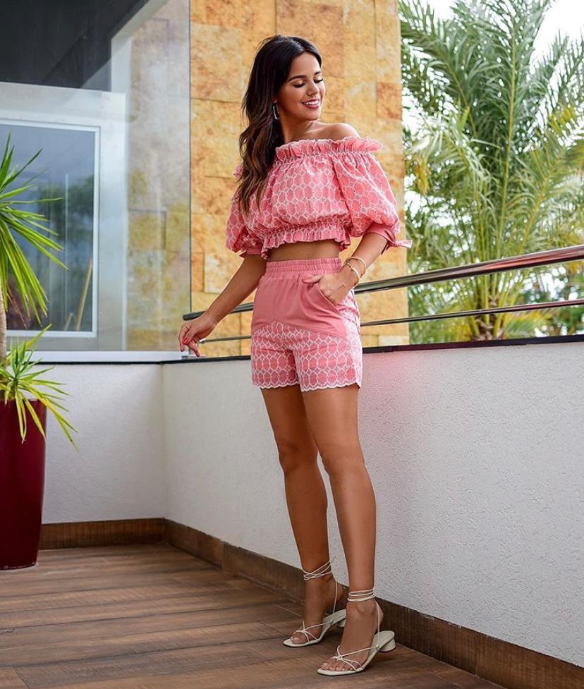 Conjunto Angelina Shorts Lasie