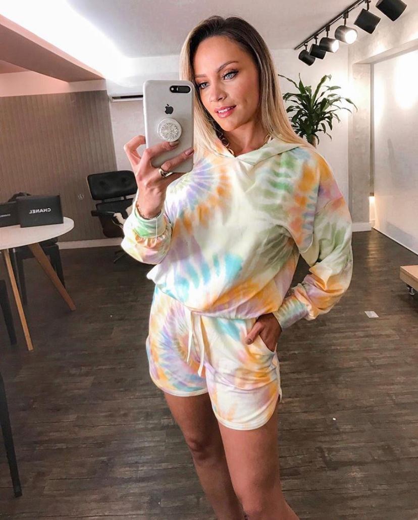 Conjunto Fernanda Tie Dye Shorts