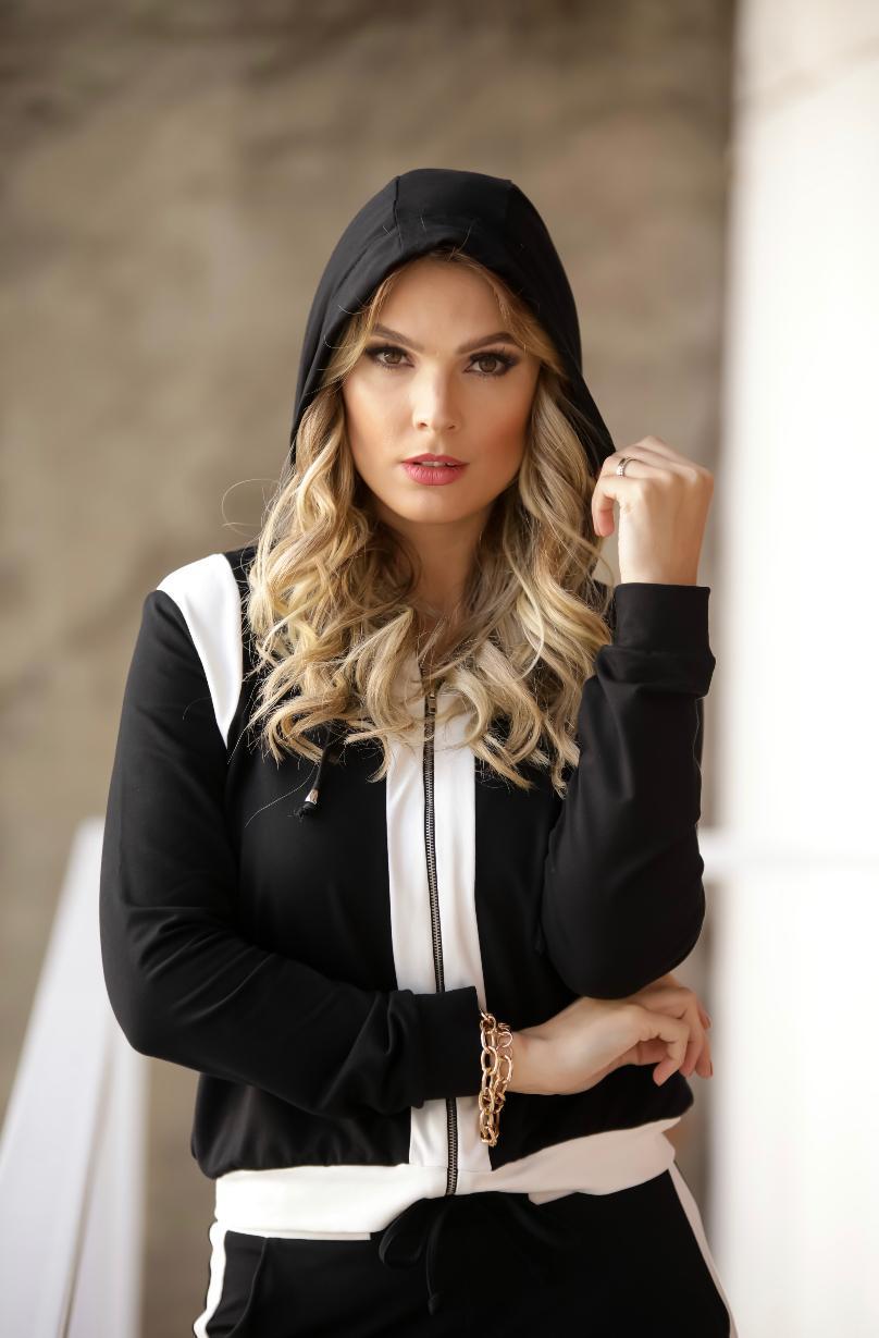 Conjunto Melissa Moletinho P&B