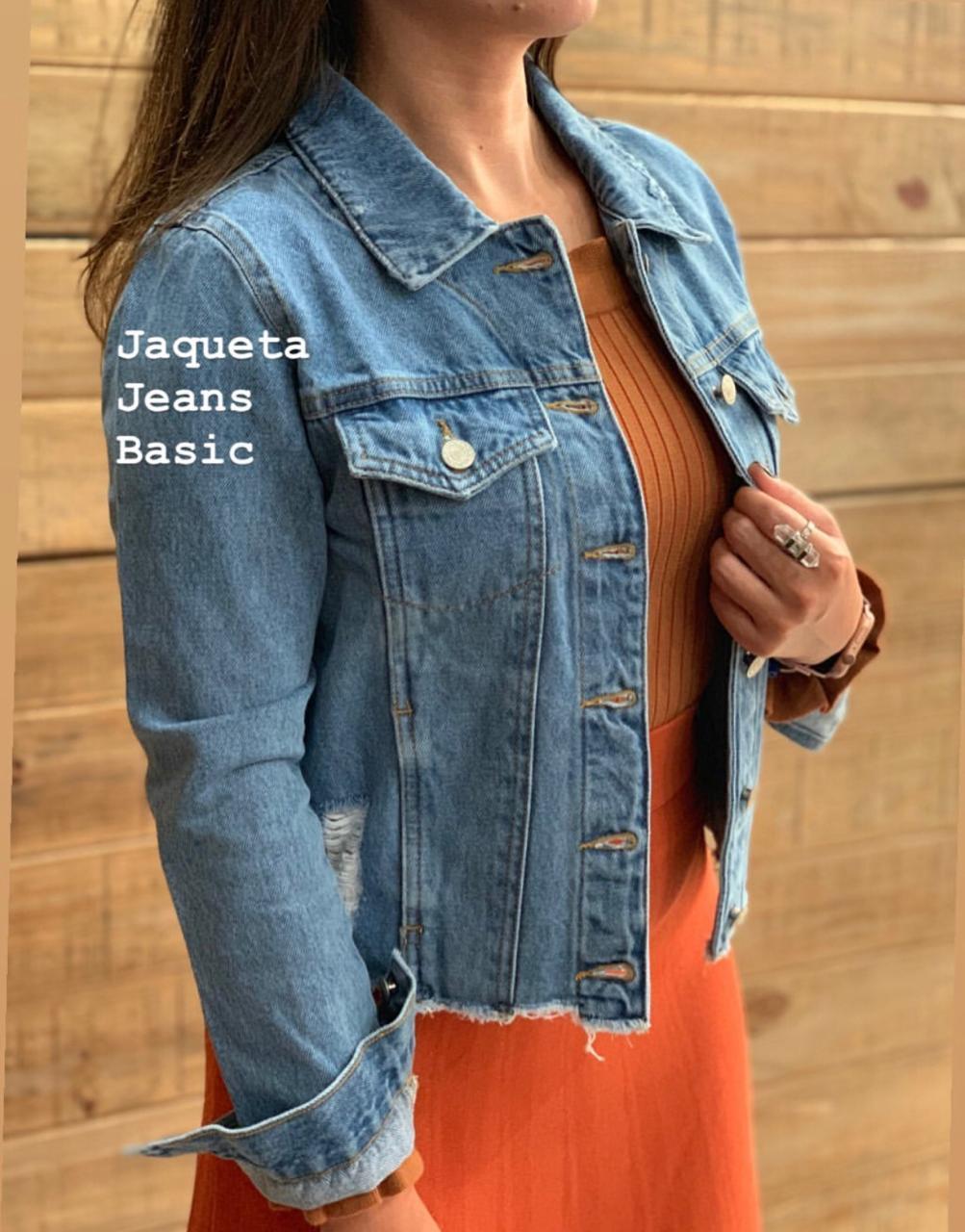 Jaqueta Esmeral Jeans