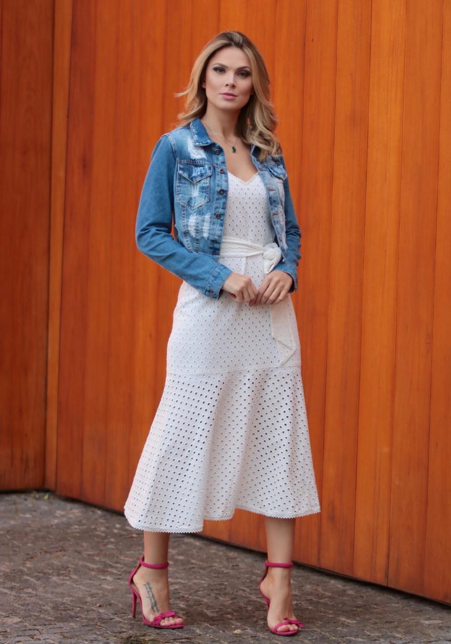 JAqueta Hit Jeans (Modelagem Pequena)