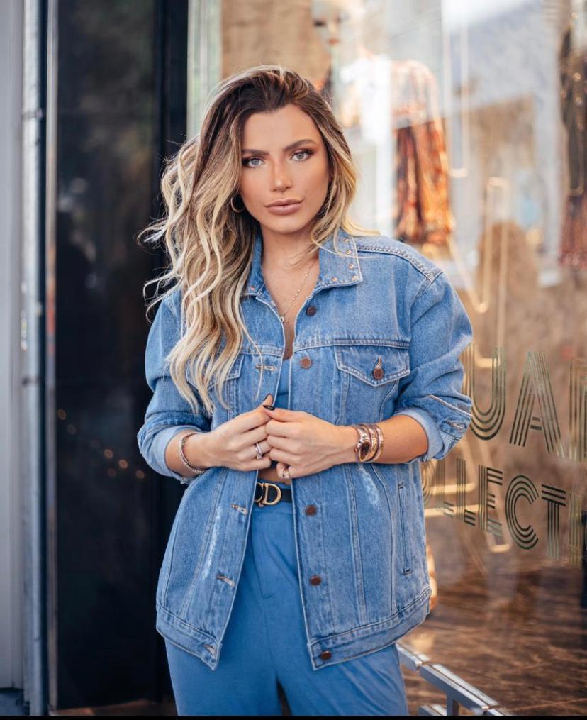 Jaqueta Morina Boyfriend Jeans Stonado