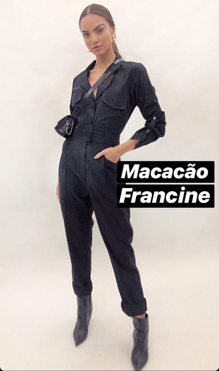 Macacão Francine Tencel Encorpado
