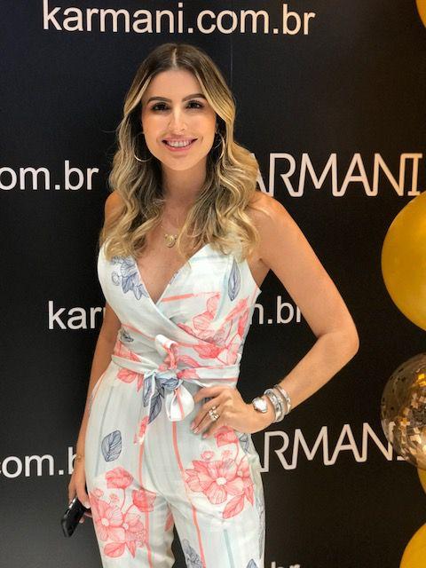 MACACÃO KARINA ALFAIATARIA DETALHE AMARRAÇÃO  ERVA DOCE 5% ELASTANO