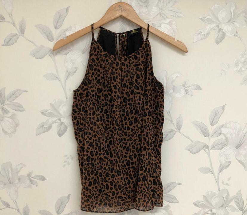 Regata Denise Crepe Animal Print