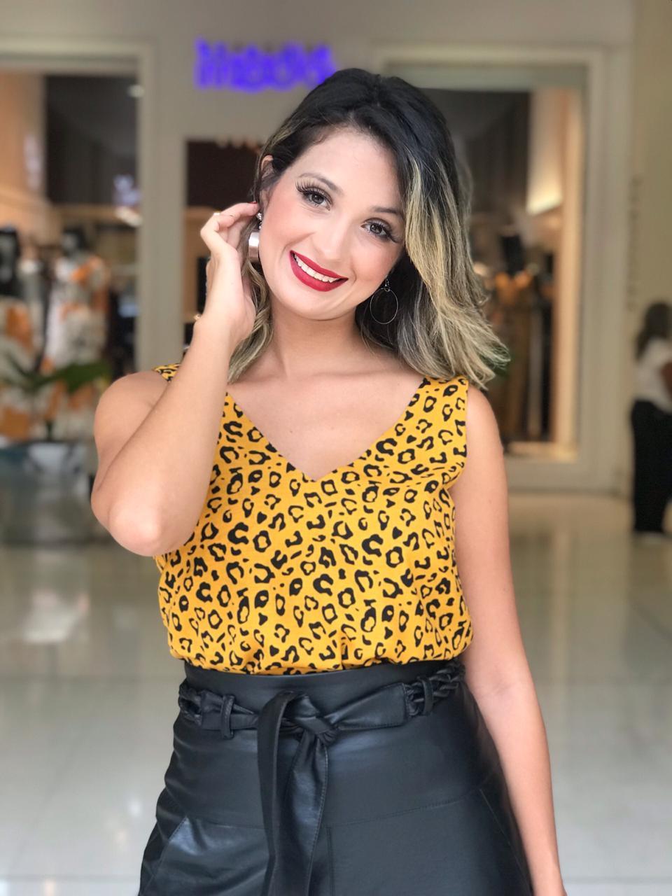 Regata Natalia Viscolinho Animalprint