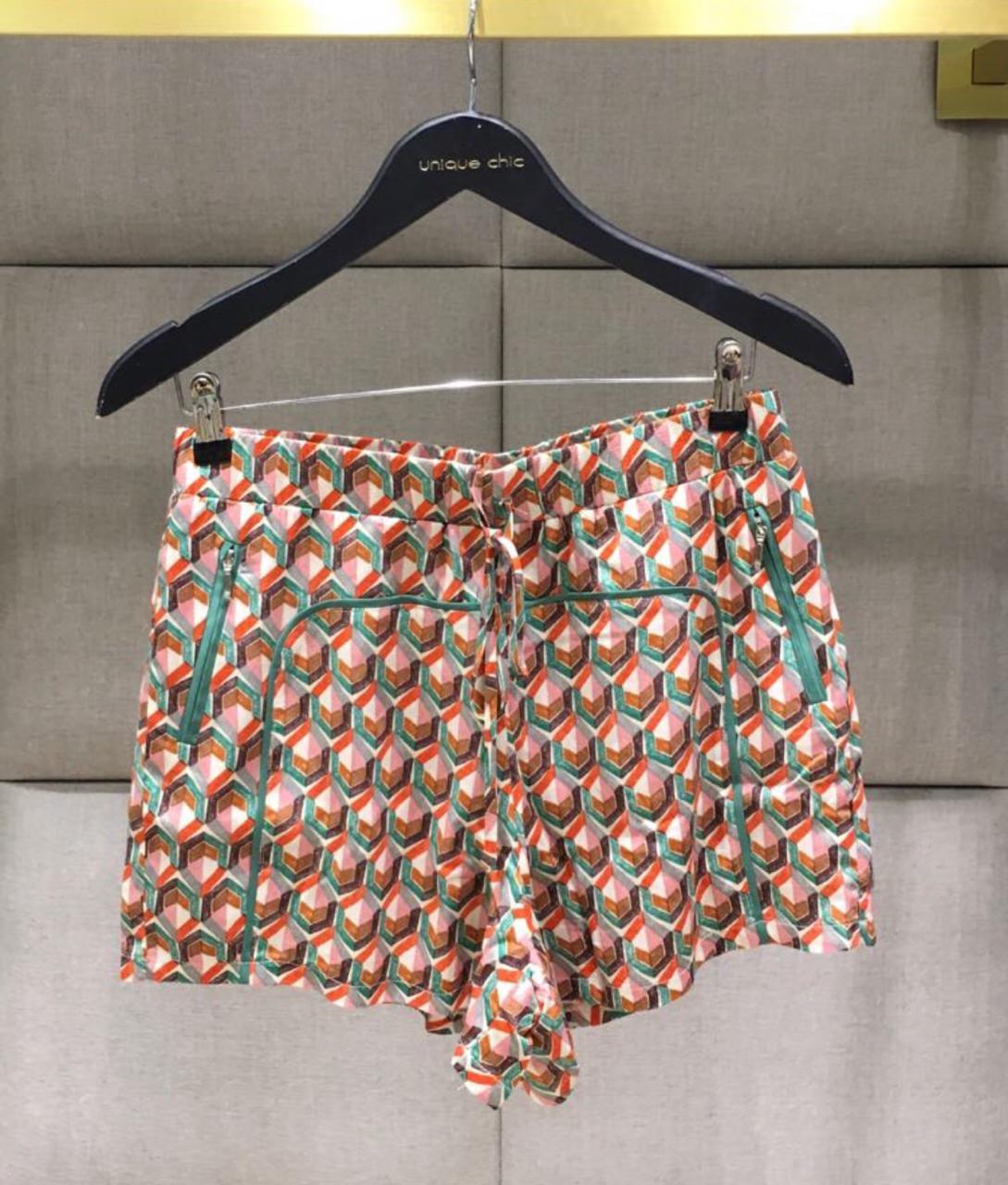 Shorts Angélica Crepe Colors