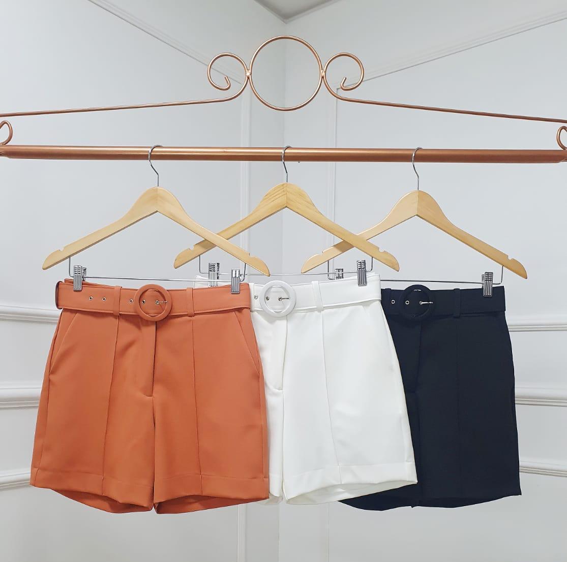 Shorts Atenas Alfaiataria 10% Elastano