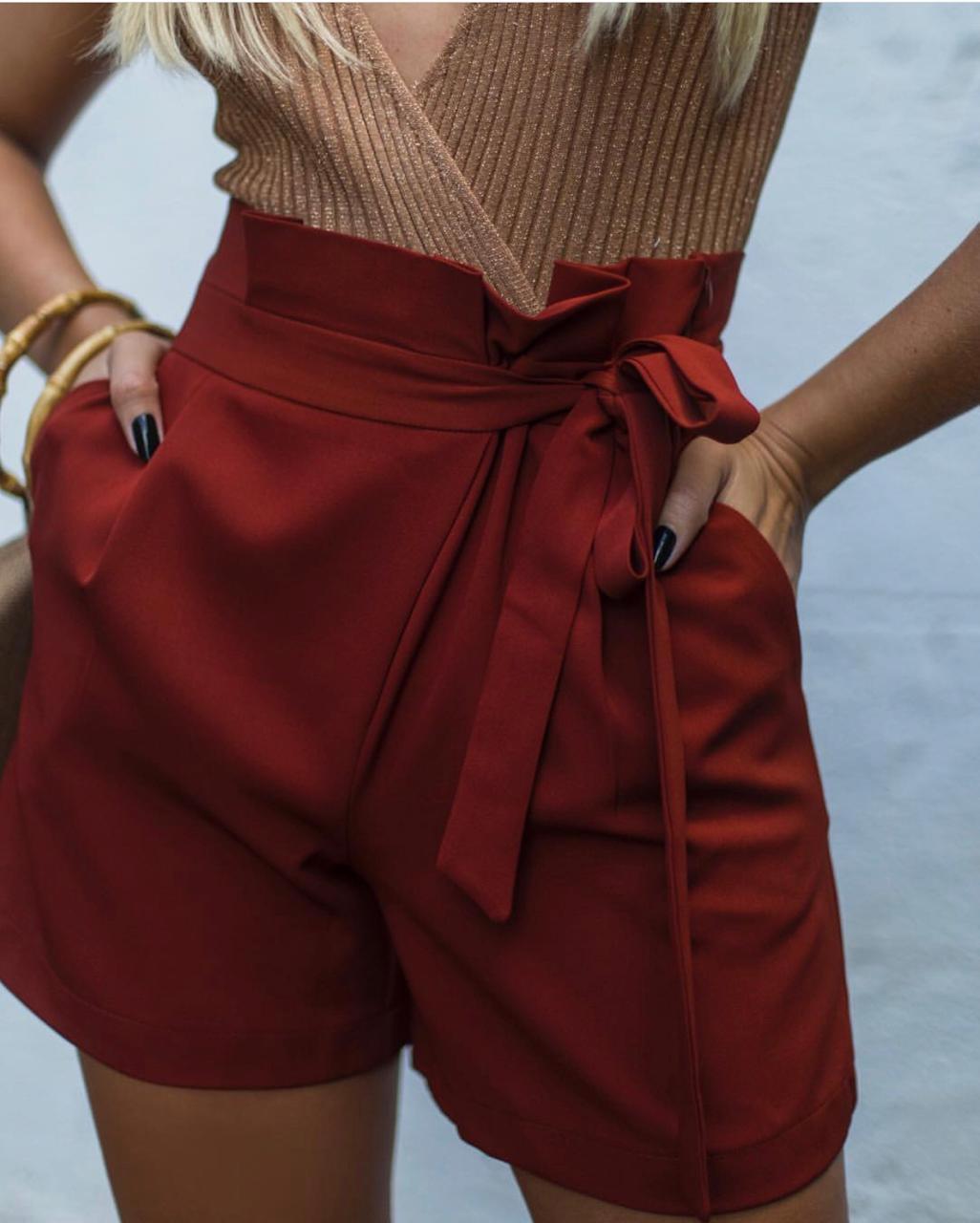 Shorts Morina Alfaiataria
