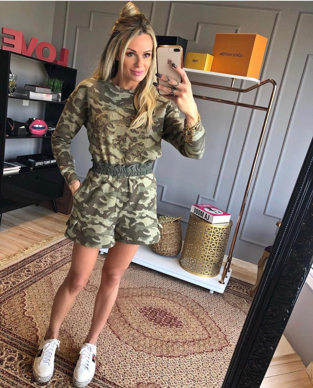 Shorts Morina Camuflado