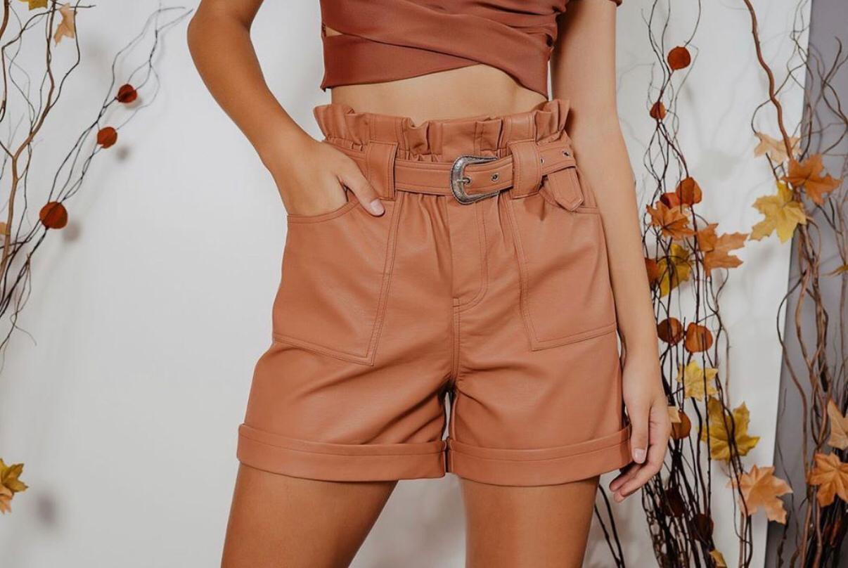 Shorts Morina Couro Country