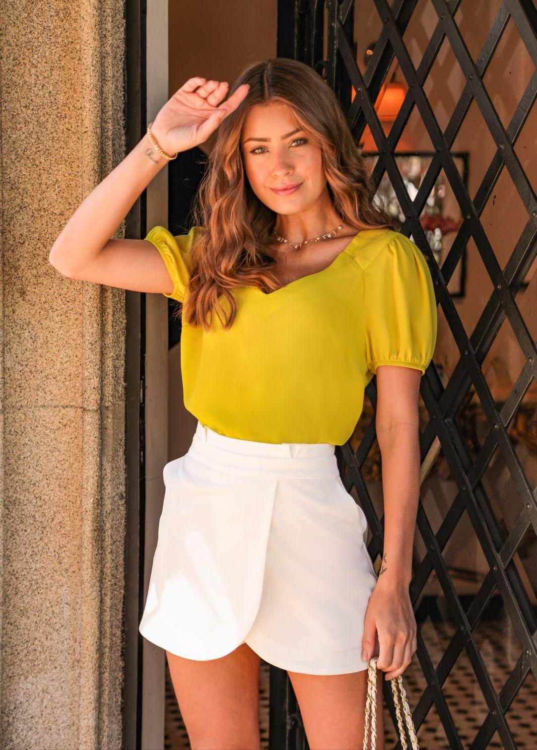 Shorts Saia Gabriela Clochard Transpasse