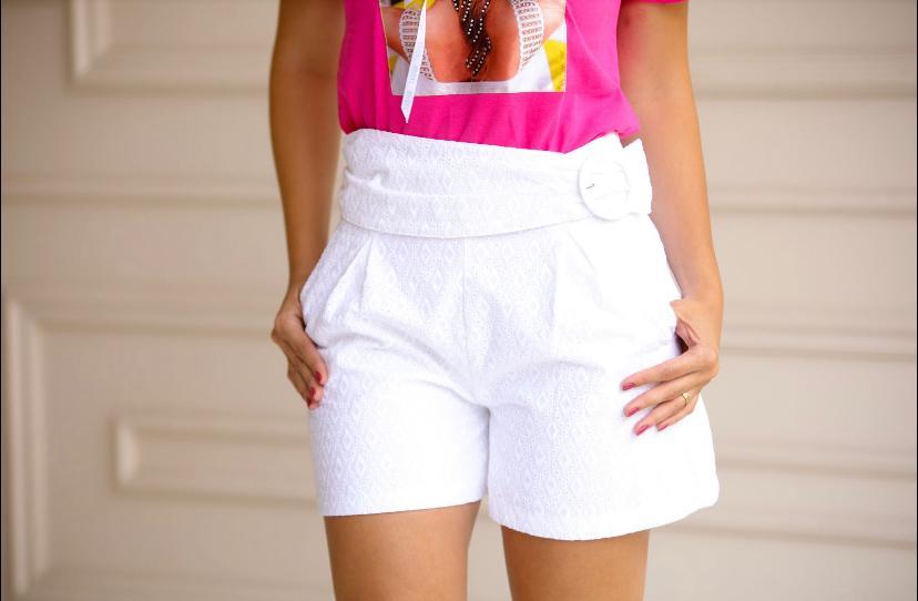 Shorts Sicília Lasie Forrado Com Cinto