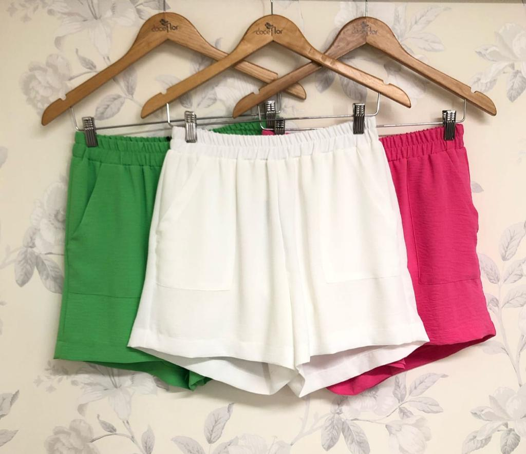Shorts Thais Jogger Detalhe Bolsos