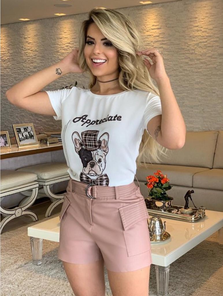 T-shirt Apreciate  Viscolycra