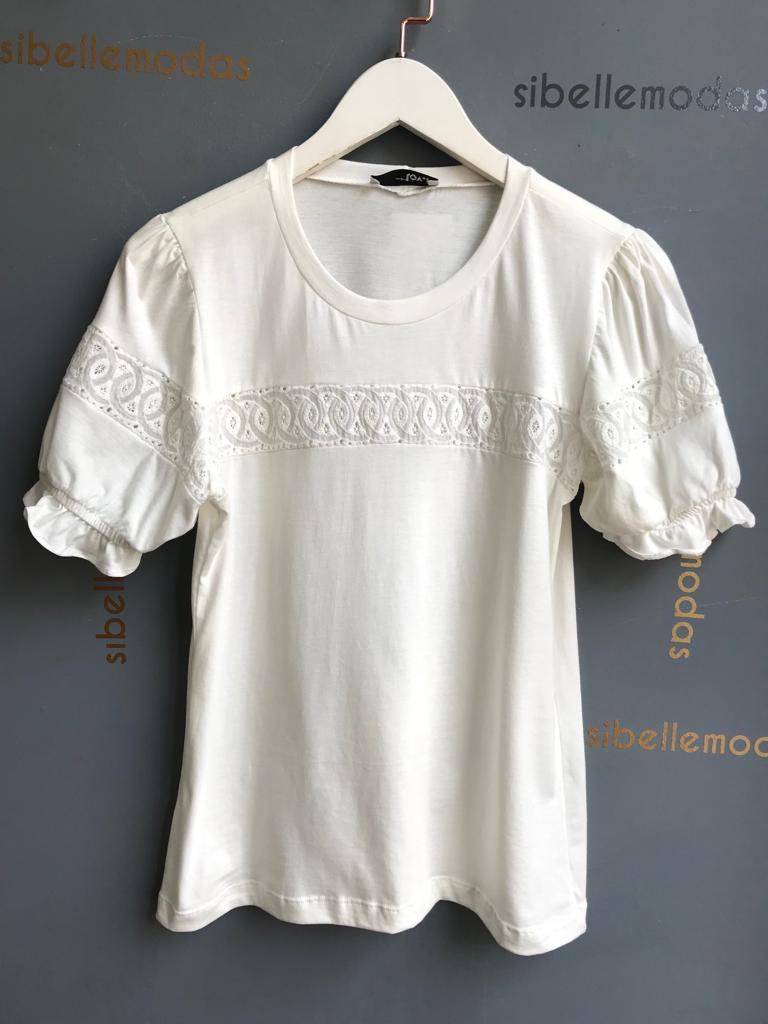 T-shirt Eliana Com Renda