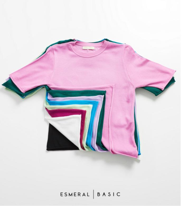 Blusa Esmeral Basica Tricot