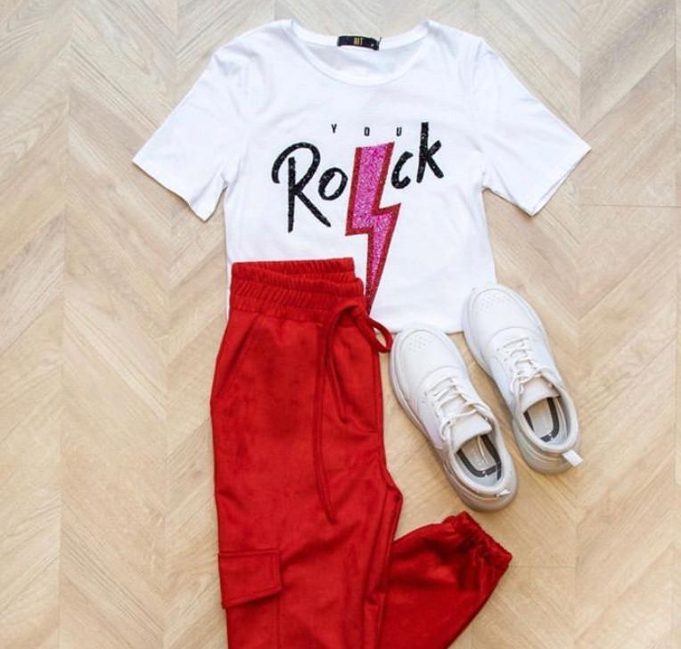 T-Shirt  Hit Rock Bordada