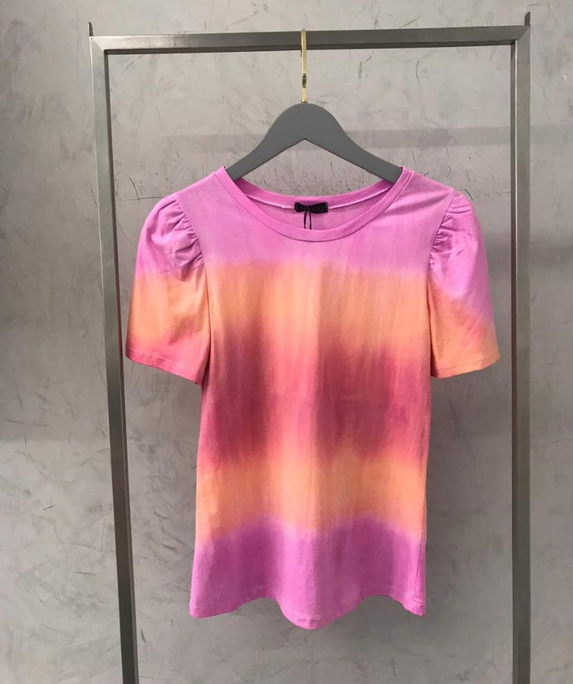 T-shirt  La Chocole Gola Careca Tie Dye