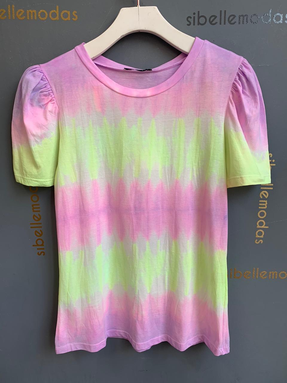 T-Shirt  La chocole  Tie Dye Manga Bufante