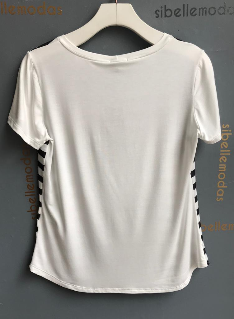 T-Shirt  Less Drama  Viscolycra