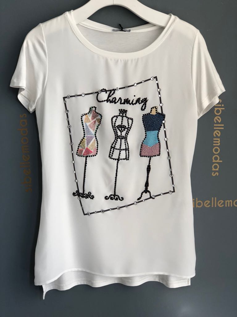 T-SHIRT MANEQUINS VISCOLYCRA