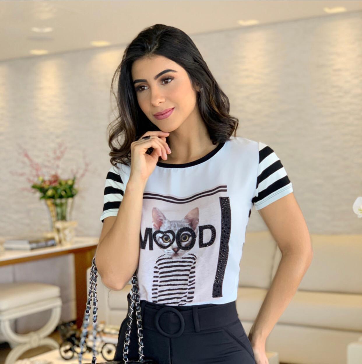 T-shirt Mood Viscolycra